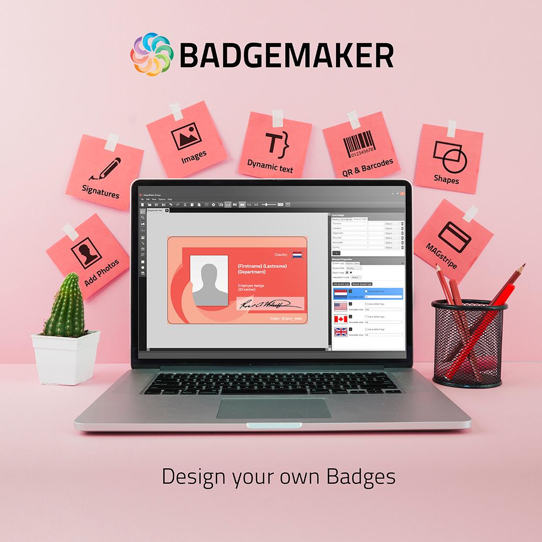 Release BadgeMaker 2 6 2 Desktop ID Badge Software